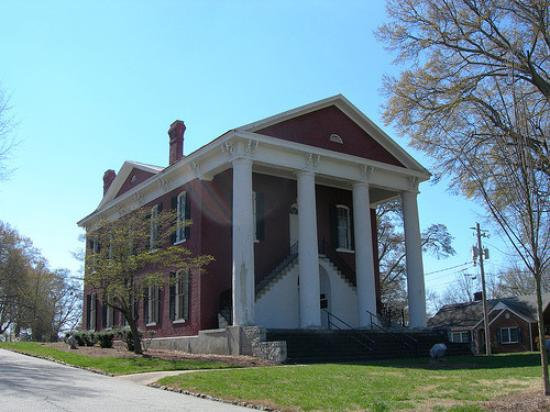 Fairburn, Géorgie : Old Csmpbell County Courthouse built in 1870