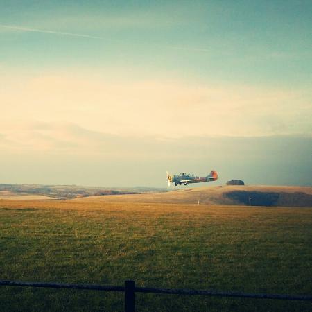 Shaftesbury, UK: Compton Abbas Airfield