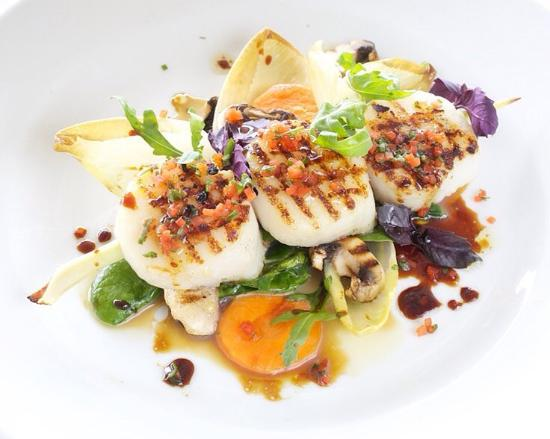 Gustavia, San Bartolomé: Seared See Scallops
