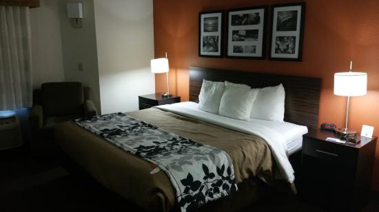 Sleep Inn: Heerlijke bedden!