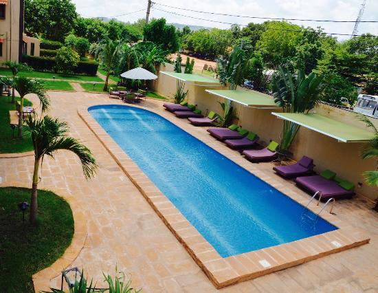 Hotel La Coccinelle: pool