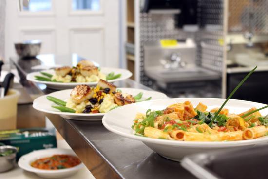 Trumansburg, NY: Culinary creations by Chef Mark