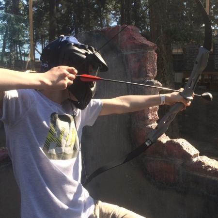 West Kelowna, Kanada: Archery Games only at Safari Ridge