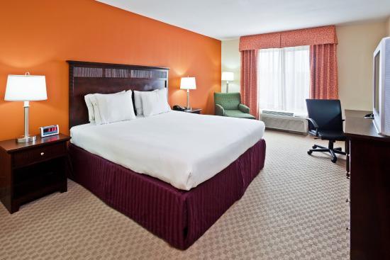 ฮิกซ์สัน, เทนเนสซี: King Bed at Holiday Inn Express & Suites Chattanooga-Hixson