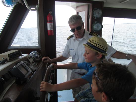 Punta Gorda, Флорида: Captain's are getting younger and younger these days....