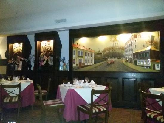 Za Dvumya Zaytsami: Restaurant Interior
