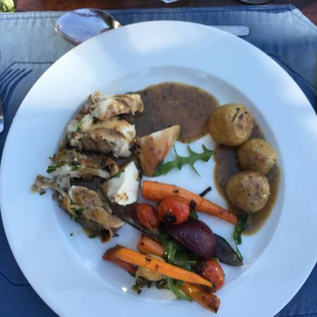 Stanford, Sudáfrica: Delicious mains and sides!