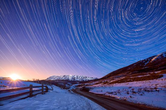Open Your Eyes And Really See Stars >> Mountains Moon Stars Picture Of Open Your Eyes Gallery