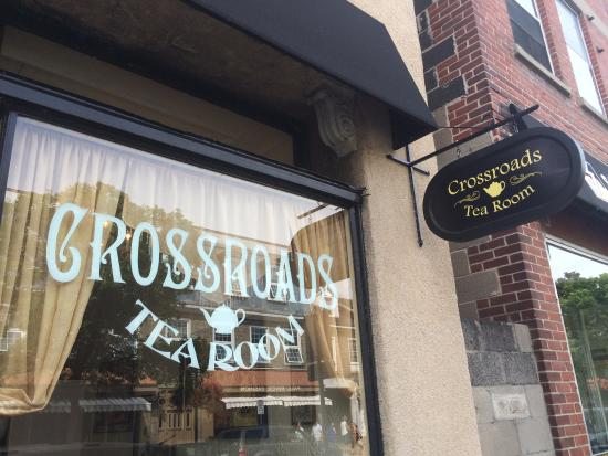 Crossroads Tearoom : Located at 40 Gore Street