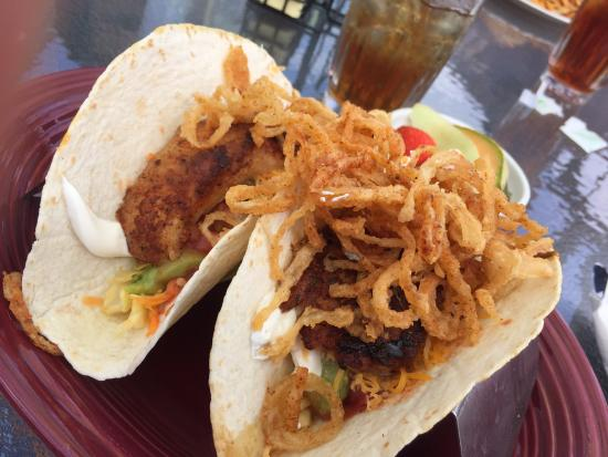Wooster, OH: Blackened Grouper Tacos