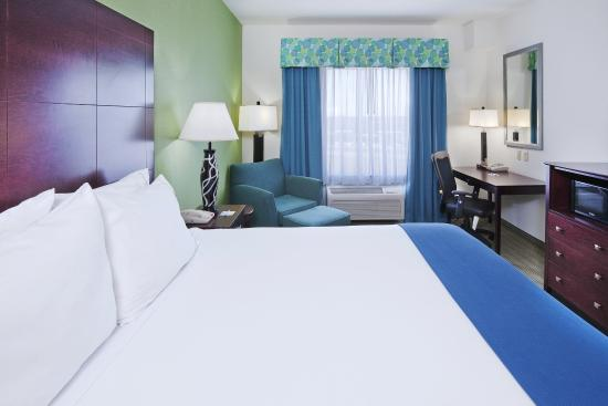 Graham, TX: King Bed Guest Room