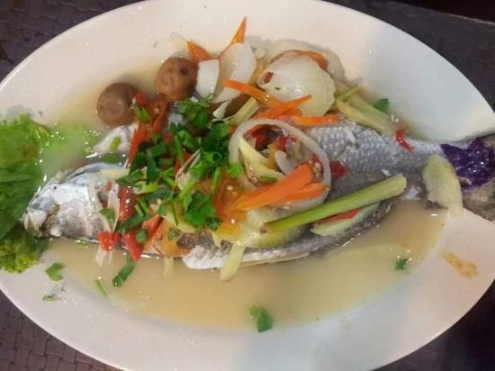 Siakap Stim Limau Picture Of Ikram Mikael Ikan Bakar Restaurant Puchong Tripadvisor