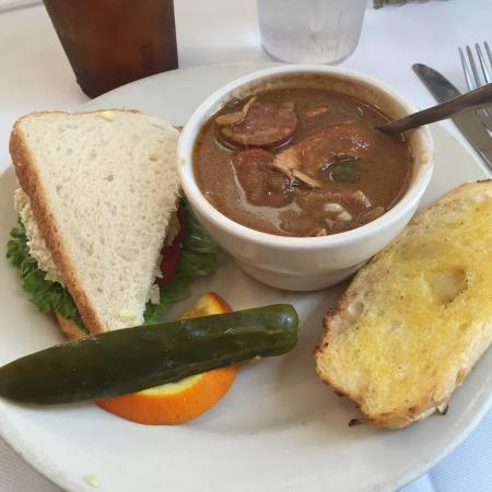 Natchitoches, LA: Gumbo and Chicken Salad Lunch