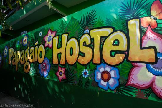 Papagaio Hostel & Pousada: entrada