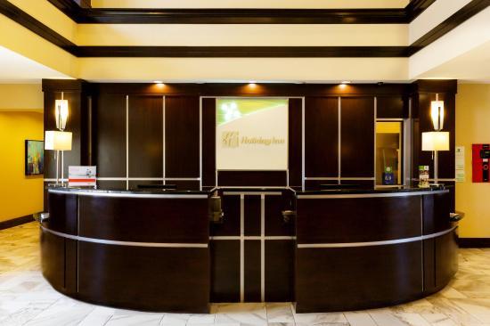 Welcome Desk at Holiday Inn Webster