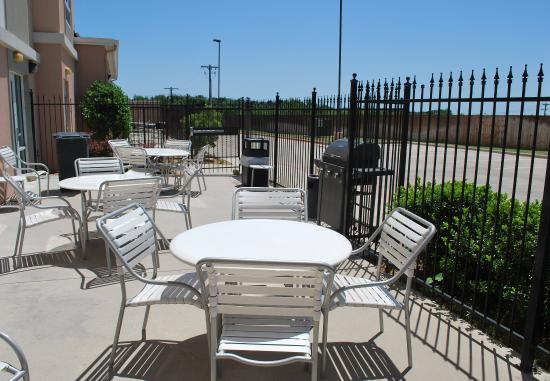Weatherford, تكساس: Outdoor Patio