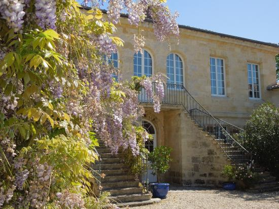 Portets, Frankrike: L'entrée du château