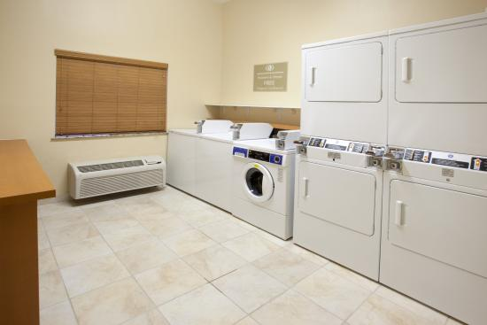 Temple, Teksas: Complimentary Laundry facilities for YOUR convenience
