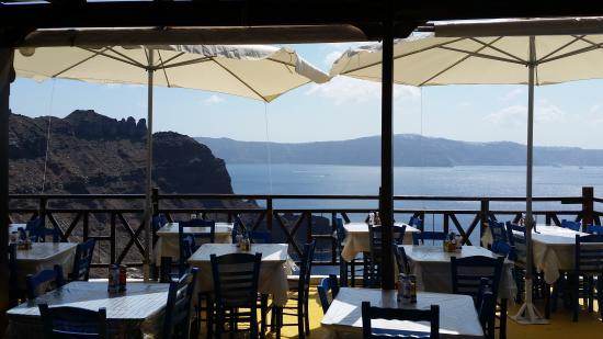 Thirassia, Grecja: Caldera View