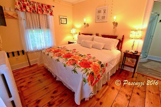 The Red Hook Country  Inn: Newly created Gaden Room