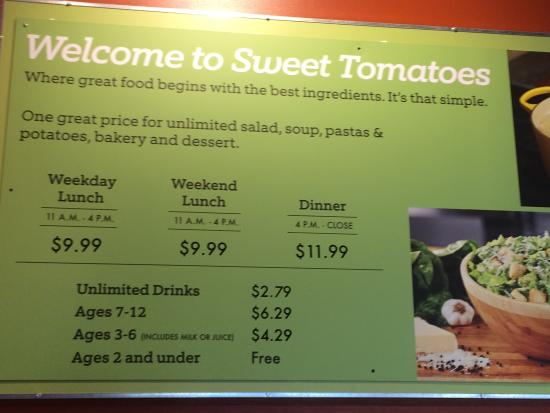 Sweet Tomatoes Restaurant For Healthy Dining Near You & Join Us For A Fresh Take On Lunch & Dinner!