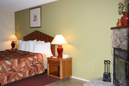 Munds Park, อาริโซน่า: Mini Suite w/ Fireplace