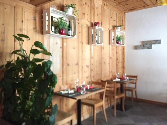 Salvan, İsviçre: L'Union - Salle de restaurant