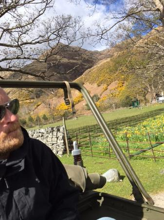 Breakish, UK: Views from the Jeep