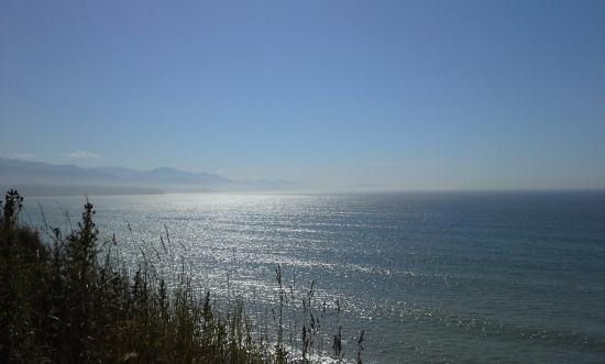 Sequim, Etat de Washington : Another view over towards Port Angeles.