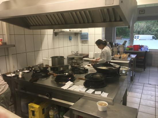 Wassenberg, Alemania: Asia-Bistro