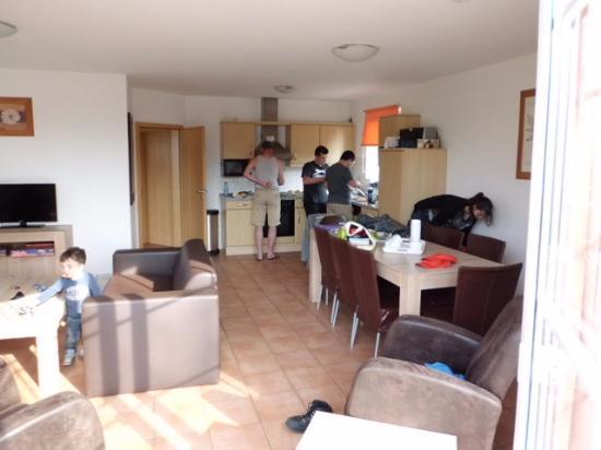 Molbergen, Allemagne : huiskamer/keuken