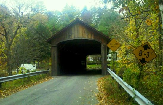 Winchester, NH: Coombs Covered Bridge - c1837