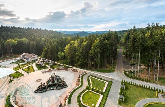 Skhodnitsa, Ucrania: Интерьер комплекса