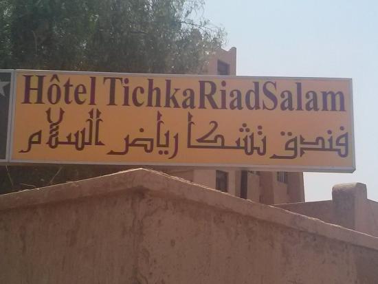 Hotel Ouarzazate Le Tichka: Das ist derrichtige Hotelname....