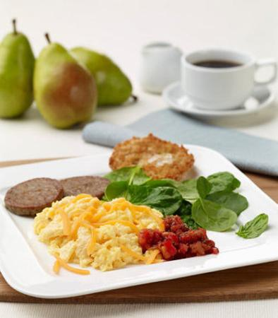 Moosic, Pensilvania: Hot & Healthy SpringHill Suites Breakfast