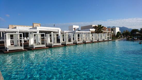 Pool Beds private pool beds - picture of pelagos suites hotel, kos town