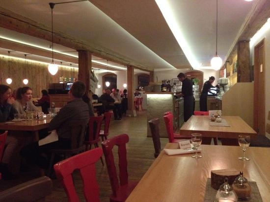 Rainhof Scheune: Restaurant / Frühstücksraum