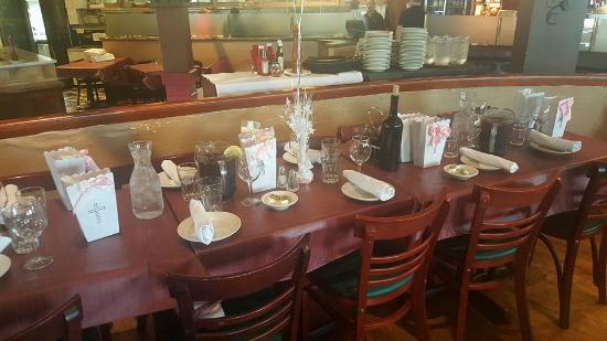 Pomodorino Restaurant of Huntington: Beautiful Tables