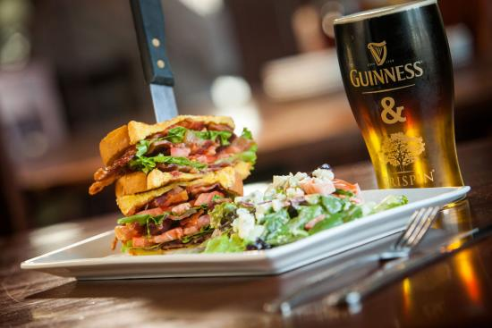 Westmont, IL: BLT and Guinness