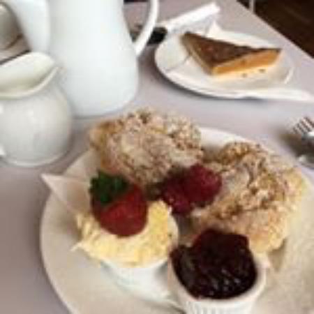 Trevena Cross Garden Kitchen Cafe: Cornish Cream Tea #Jamfirst