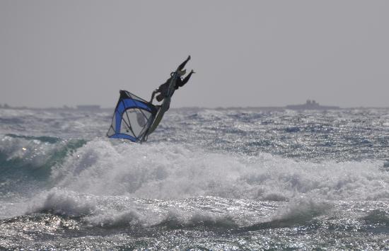 Sinaí del Sur, Egipto: Виндсерфинг