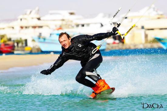 Sinaí del Sur, Egipto: Кайтсерфинг