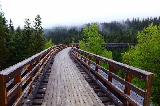 Okanagan Falls, Канада: Longest trestle