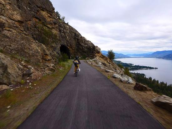 Okanagan Falls, Kanada: Last Tunnel