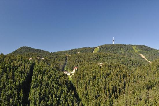 Pamporovo, Bulgaristan: Hotel area