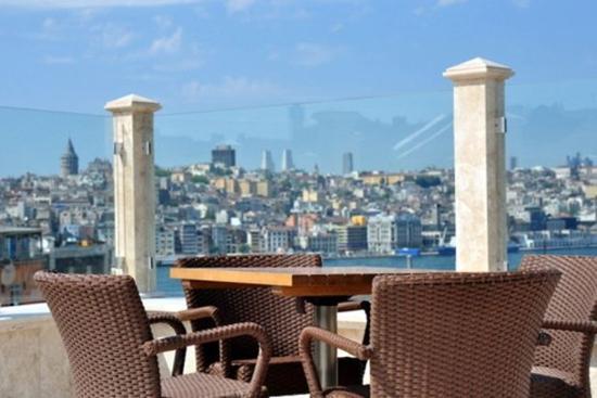 Neorion Hotel: Roof terrace