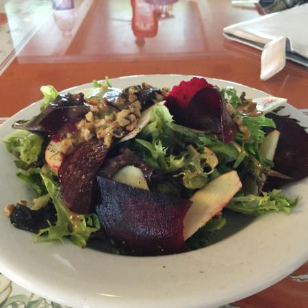 Baddeck, Canadá: Delicious Vegan salad