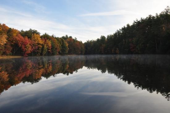 Hurley, estado de Nueva York: Fall Lake