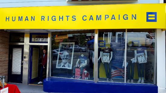 Cruisin' The Castro Walking Tours: The Human Right Campaign Action Center and Store