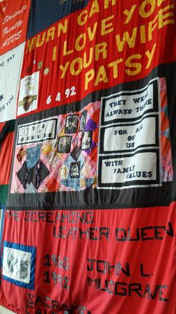 Cruisin' The Castro Walking Tours: AIDS Memorial Quilt Panel